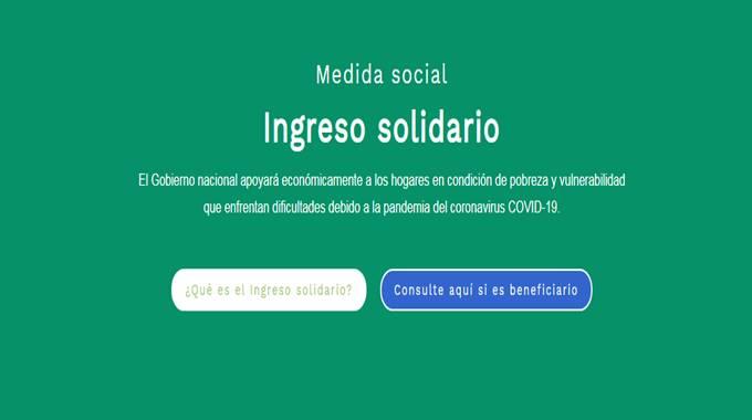 Ingreso Solidario, ingreso solidario caja social, ingreso solidario Banco de Bogotá, ingreso solidario nequi consultar